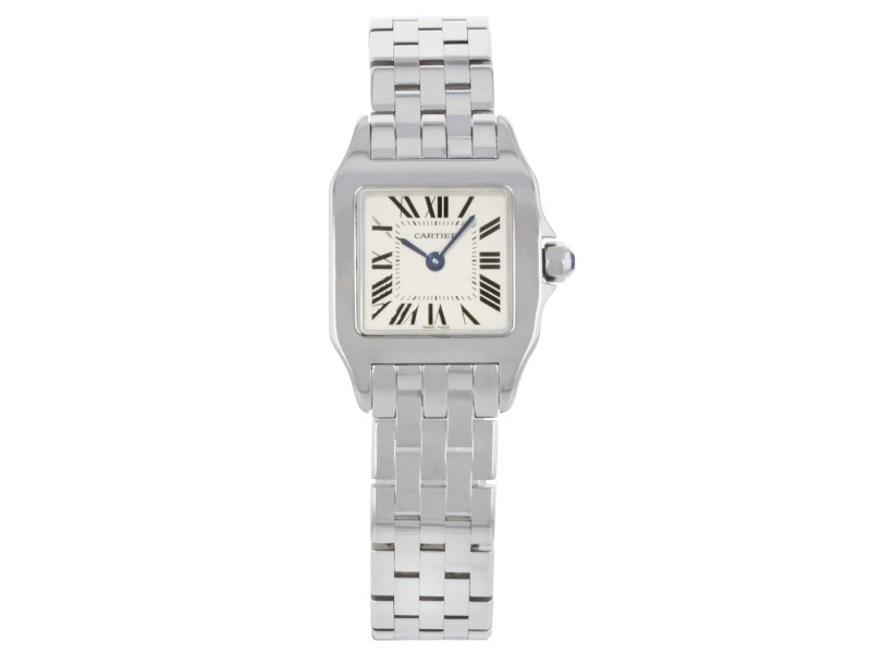 Cartier Santos W25064Z5 20mm Womens Watch