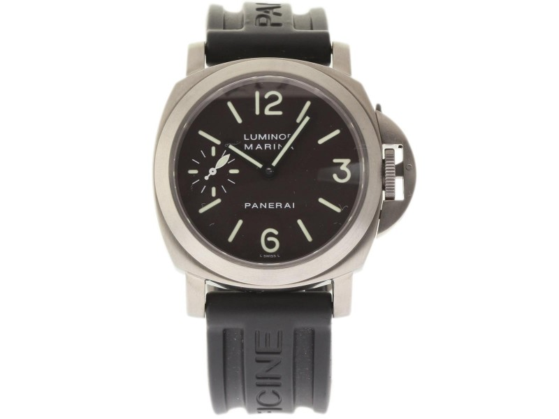 Panerai Luminor Marina PAM00061 Titanium 44mm Mens Watch