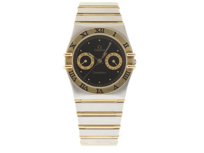 Omega Constellation 396.1080.1 Stainless Steel & Yellow Gold Quartz 34mm Unisex Watch