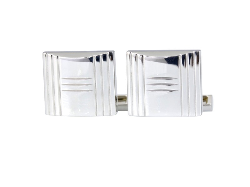 Hermes 925 Sterling Silver Cufflinks