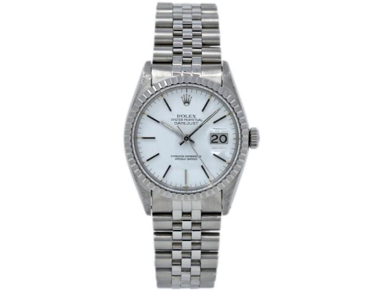 Rolex Datejust 16030 Vintage 36mm Mens Watch