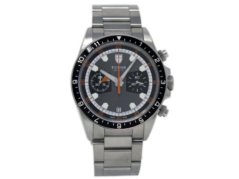 Tudor Heritage Chrono 70330N 42mm Mens Watch