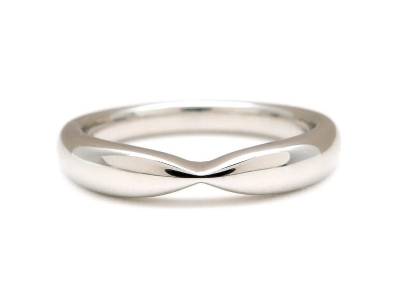 Tiffany & Co. PT950 Platinum Wedding Band Ring Size 3