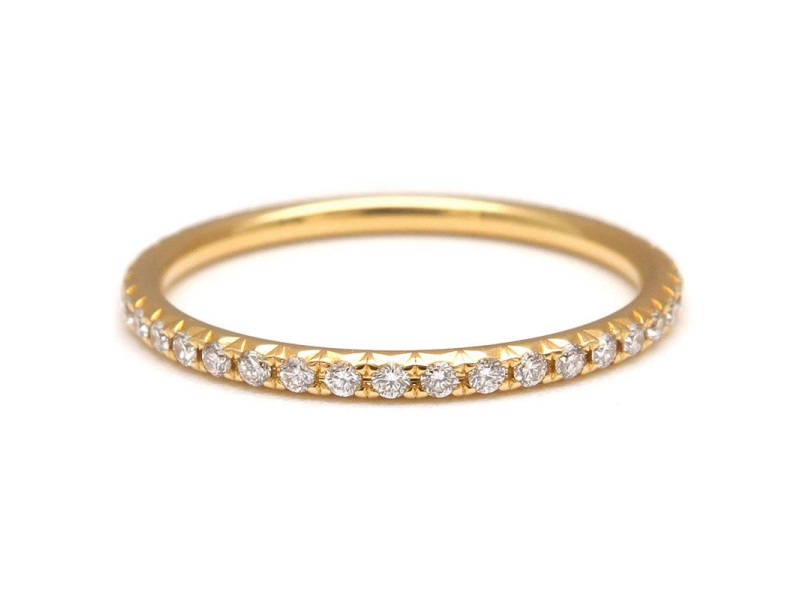 Tiffany & Co. 18K Yellow Gold with Diamond Ring Size 6