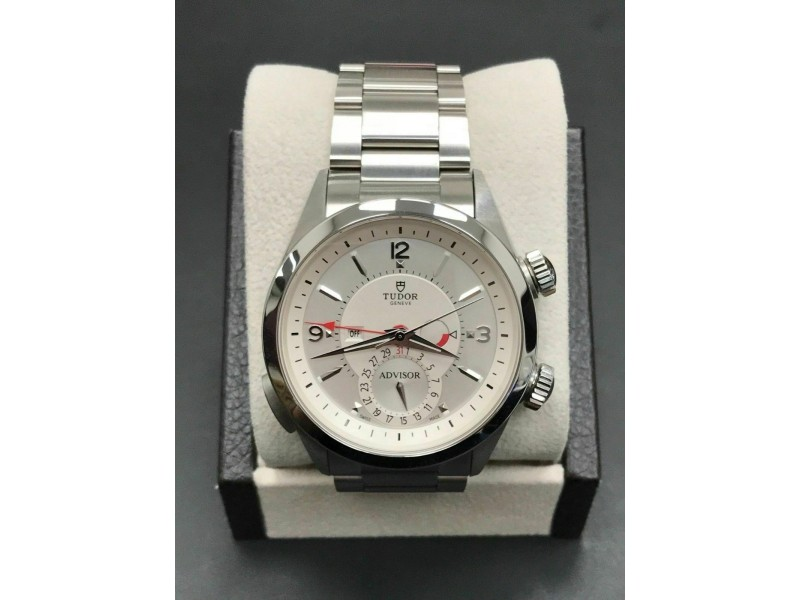 BRAND NEW 2018 Tudor Heritage Advisor 79620 Stainless Steel Box Papers