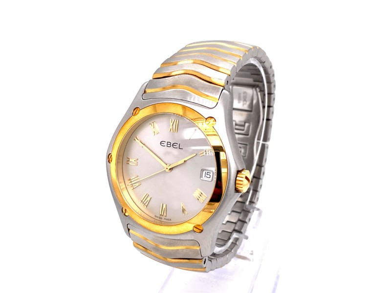 Ebel Classic Wave 1255F51-0225 18K Yellow Gold Stainless Steel Gold