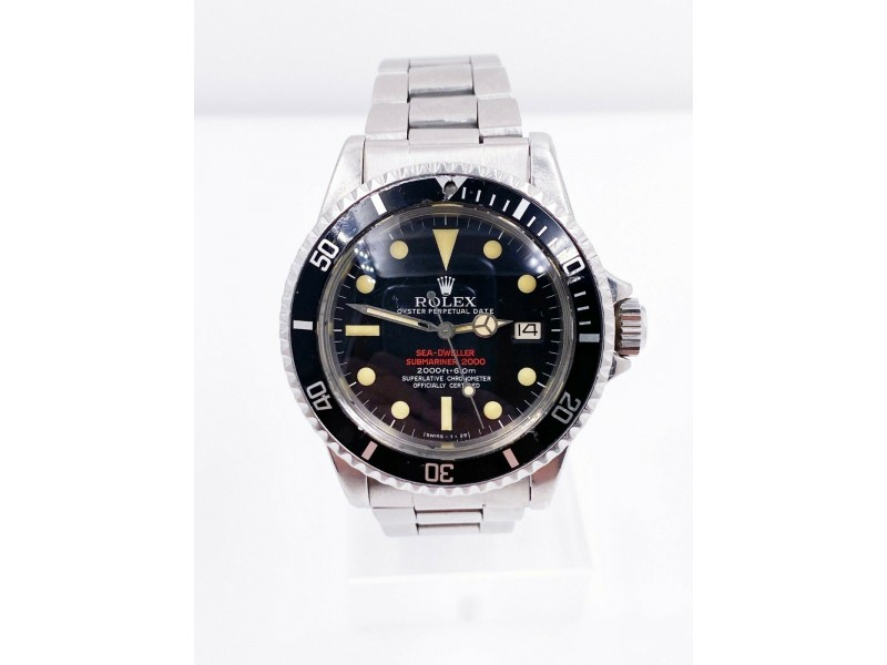Vintage Rolex 1665 Double Red Sea Dweller Stainless Steel