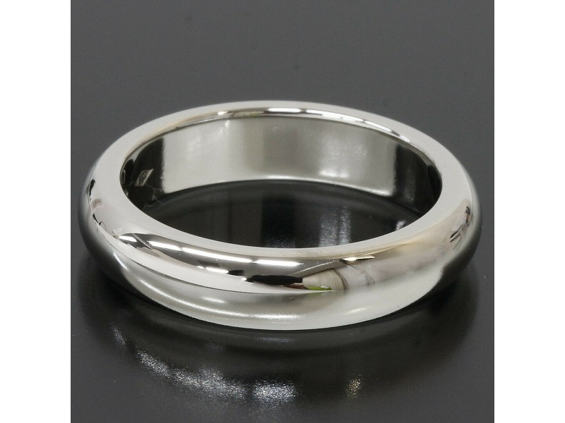 Cartier Platinum Simple Wedding Band Ring TNN-1645
