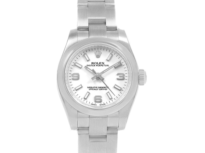 Rolex Oyster Perpetual 176200 24mm Womens Watch