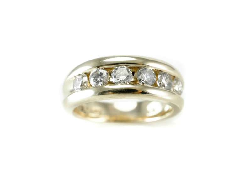 14K Yellow Gold 1.20 ct. Round Diamond Womans Ring