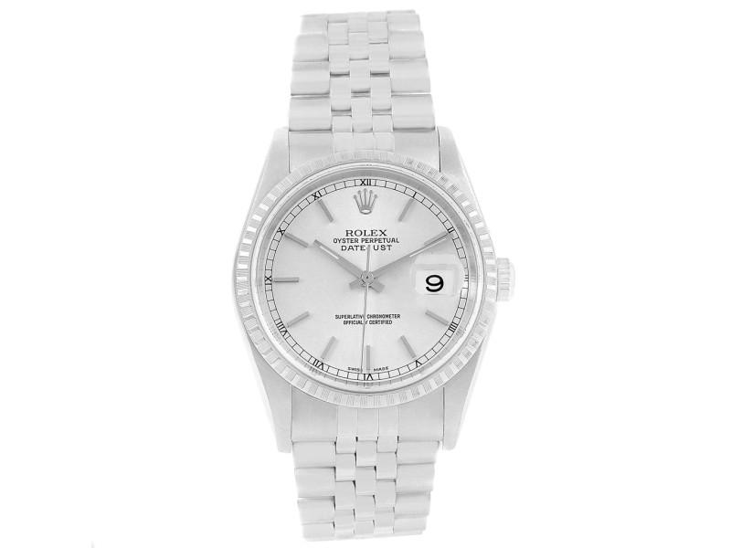 Rolex Datejust 16220 34mm Mens Watch