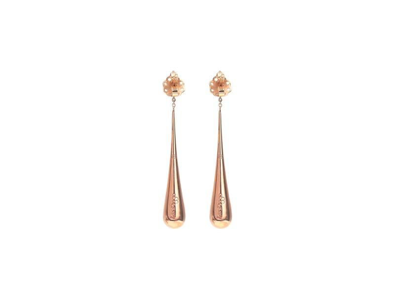 Drop pendant earrings