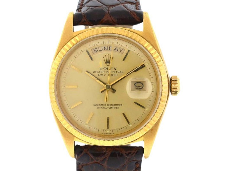 Rolex Day-Date President 1803 36mm 18K Yellow Gold Watch