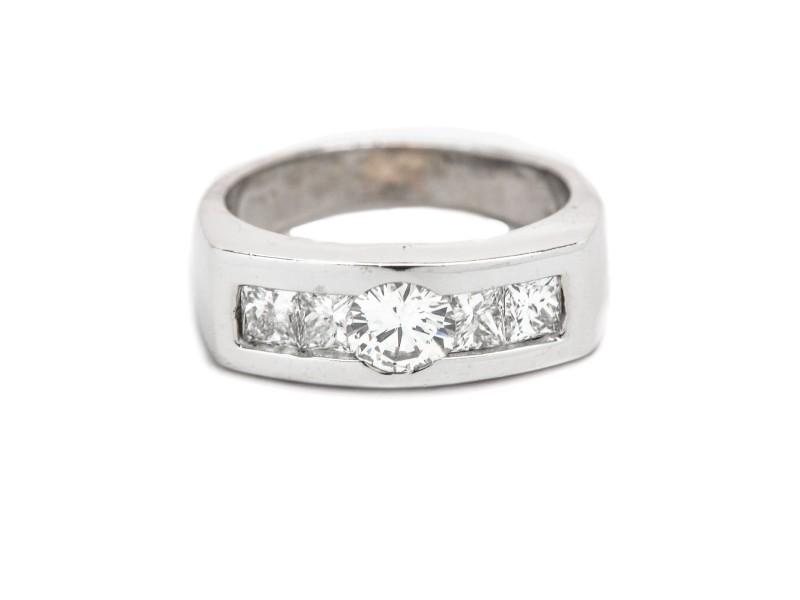 18K White Gold 1.50ct Diamond Ring