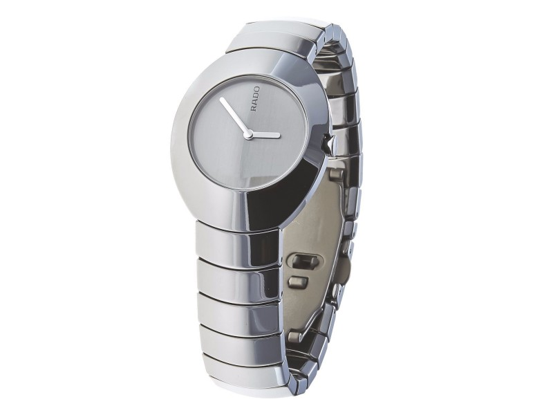 Rado Ovation 121.0497.3 High-Tech Ceramics Silver Dial Quartz Womens Watch