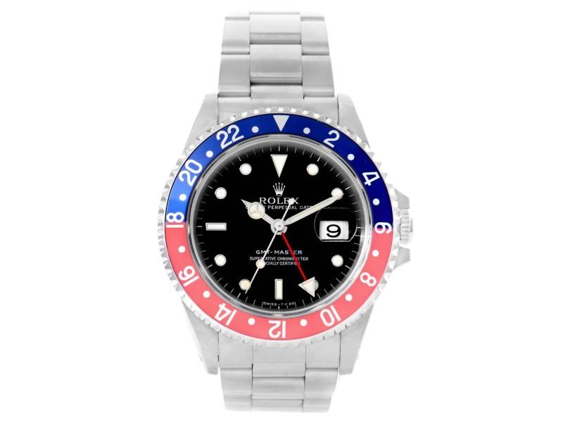Rolex GMT Master 16700 Pepsi Bezel 40mm Mens Watch