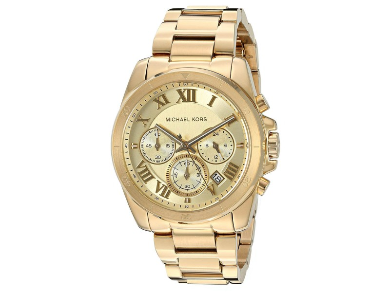 Michael Kors Brecken MK6366 Gold Tone Stainless Steel with Gold Dial 40mm Womens Watch
