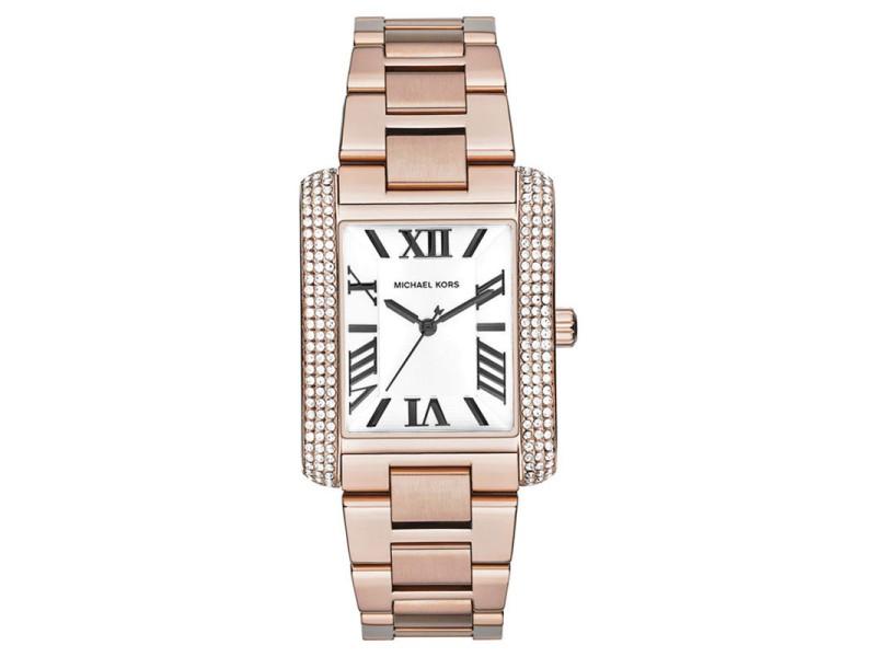 Michael Kors MK3255 Rose Gold Tone Stainless Steel Quartz 36mm Womens Watch