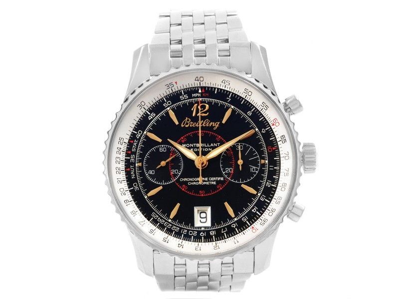 Breitling Montbrillant A48330 43mm Mens Watch