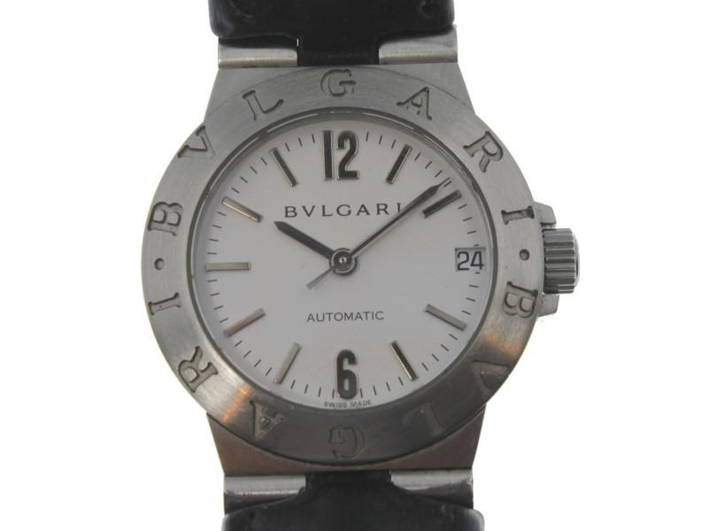 Bulgari Bvlgari Diagono LCV29S 29mm Vintage Womens Watch