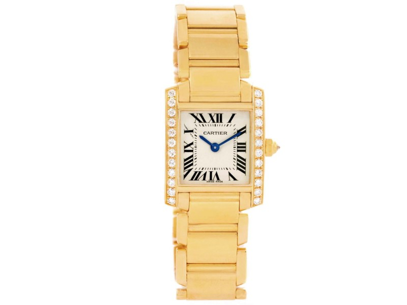Cartier Tank Francaise WE1001R8 20mm Womens Watch