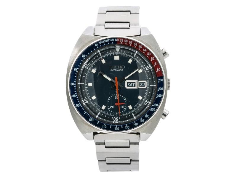 Seiko Watch 6119 41mm Womens Vintage Watch