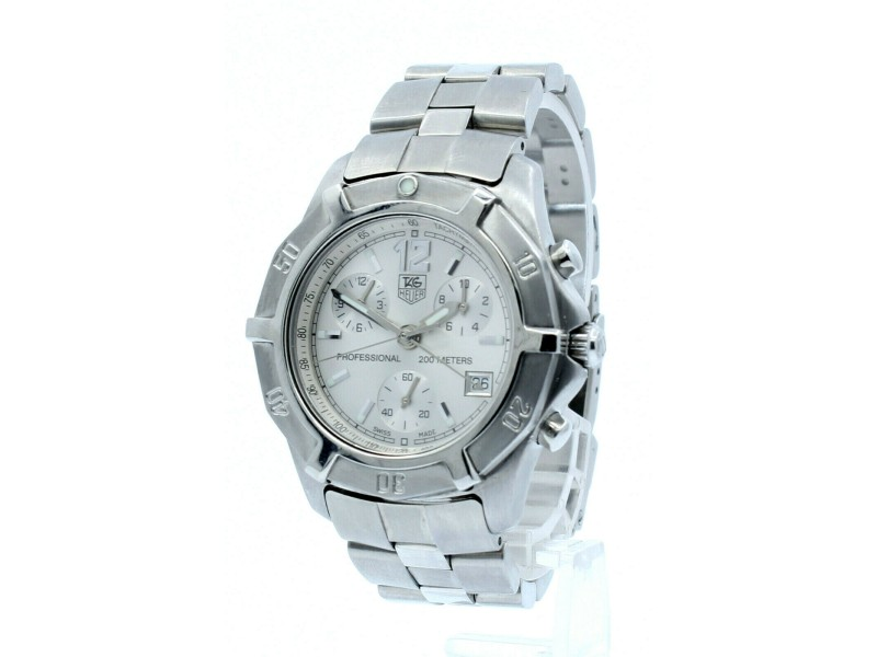 Mens TAG HEUER Exclusive Chronograph Ref: CN1111 Stainless Steel Watch