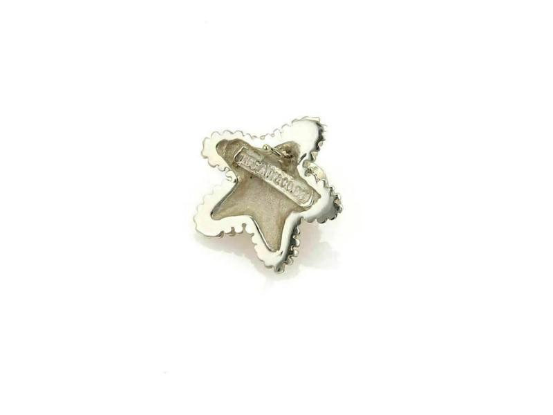 Tiffany & Co. Starfish Shell Sterling Silver Stud Earrings