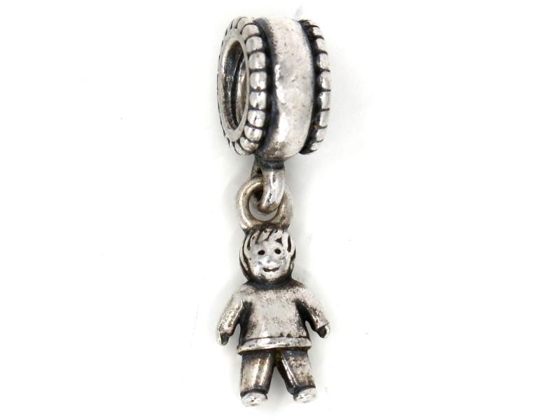 Pandora Little Boy Dangle Charm in Sterling Silver 790859