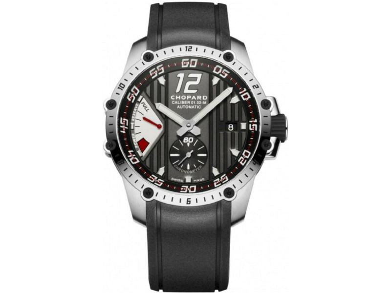 Chopard 168537-3001 Classic Racing Superfast Power Control Men Watch 45mm New