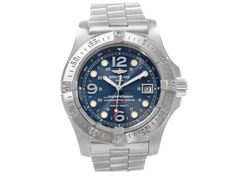 Breitling Superocean Steelfish A17390 44mm Mens Watch