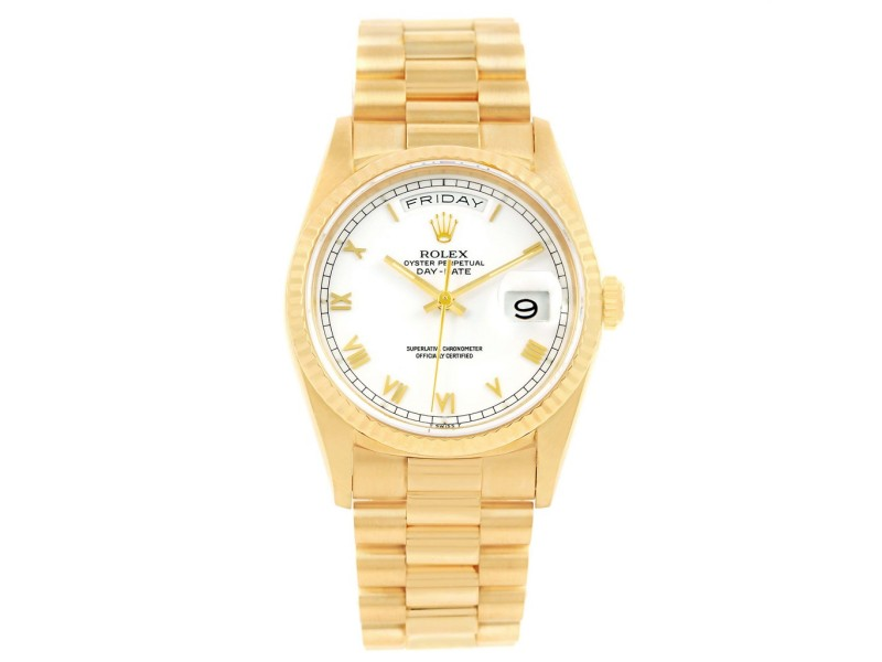 Rolex Day-Date President 18238 36mm Mens Watch
