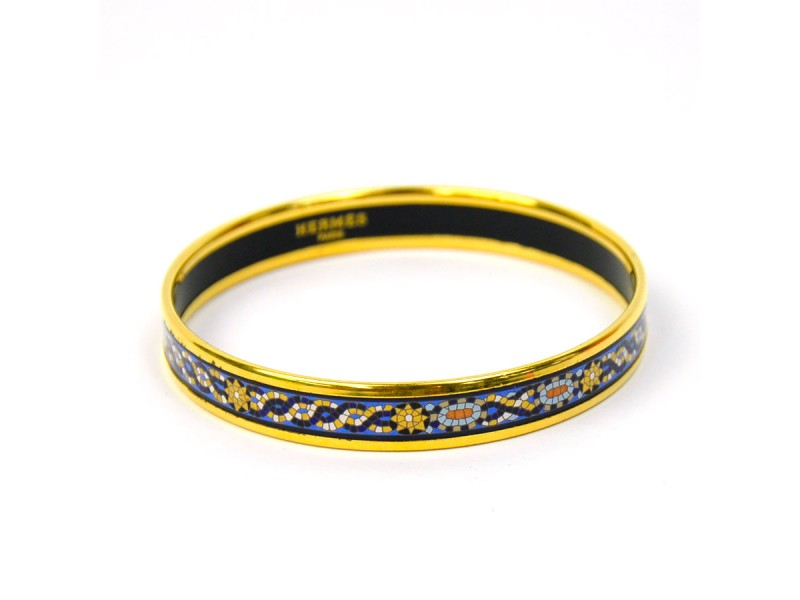 Hermes Metal Material Bangle Bracelet