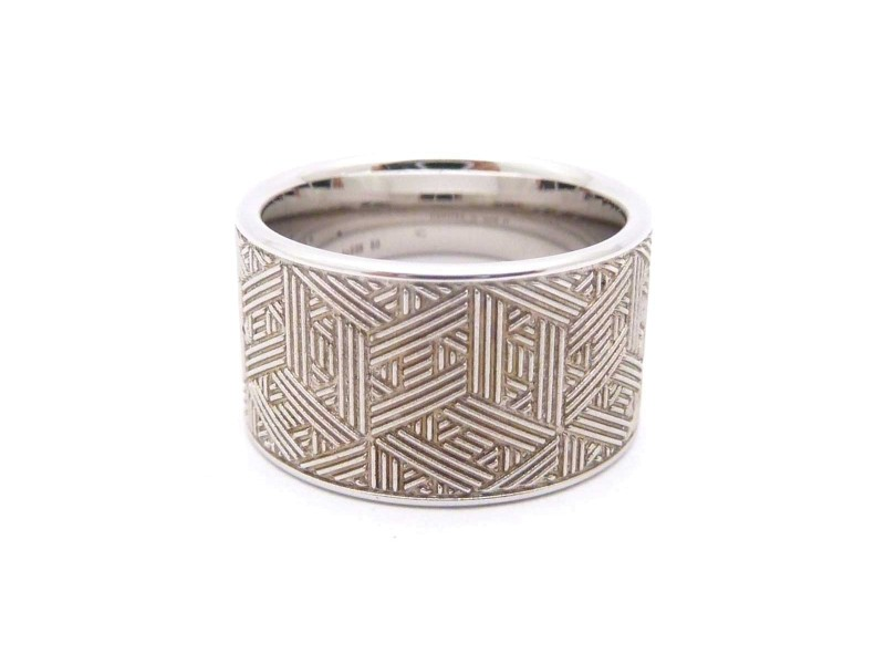 Hermes 925 Sterling Silver Ring Size 5.25