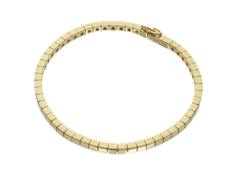 Cartier 18K Yellow Gold Chain Link Bracelet