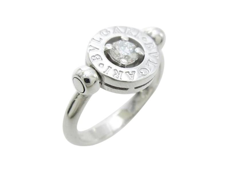Bulgari 750 White Gold Ring