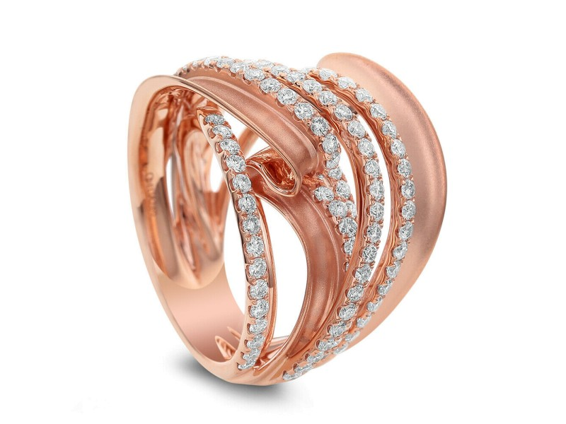 Cocktail ring with 1.65ct. of Total Diamond Weight