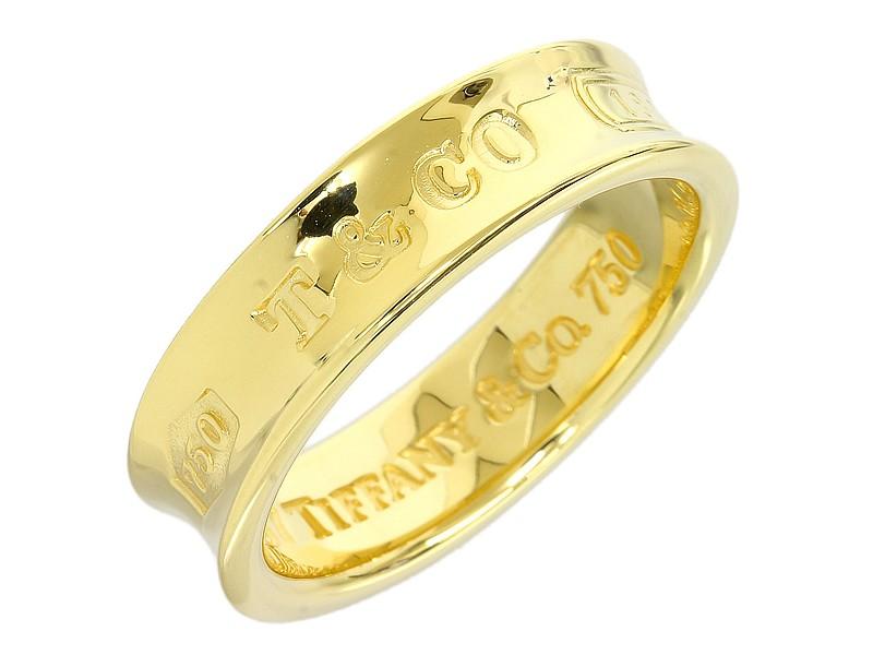 Tiffany & Co. 18K Yellow Gold Wedding Ring