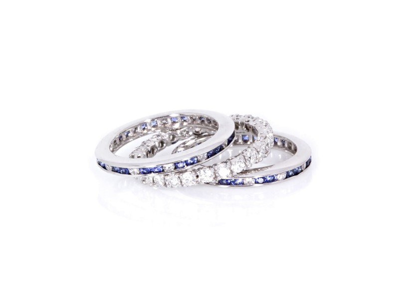 Eternity Bands - Diamonds and Other Gemstones