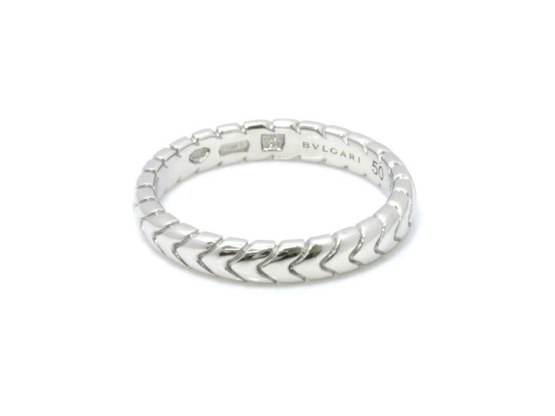BVLGARI Platinum SPIGA Ring