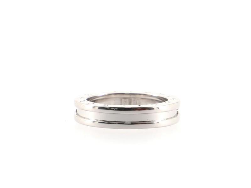 Bvlgari B.Zero1 One Band Ring 18K White Gold