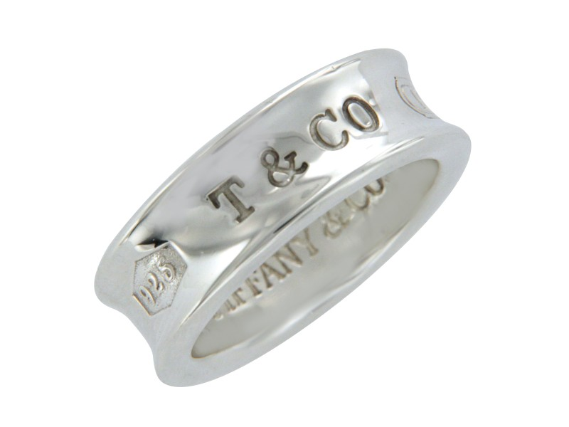 Tiffany & Co. 1837 925 Sterling Silver Band Ring Size 6.5