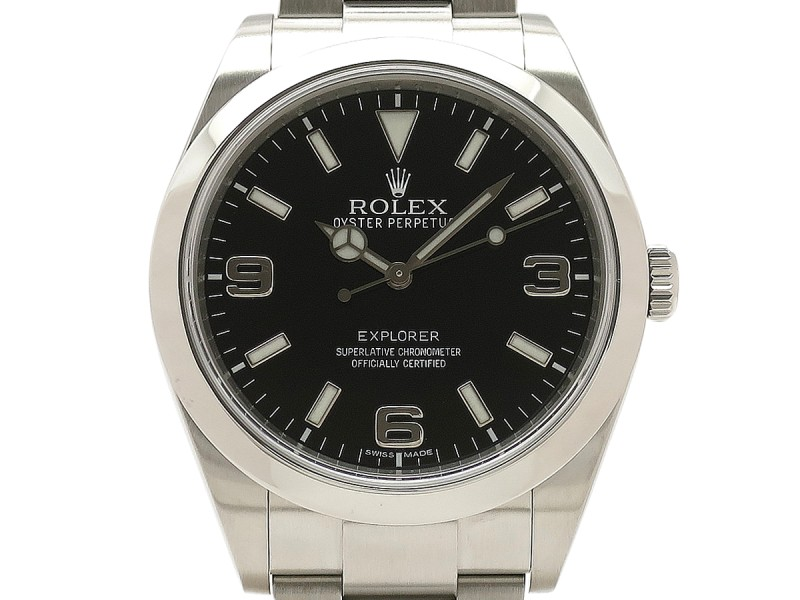 Rolex Explorer I 214270 Stainless Steel 39mm Mens Watch