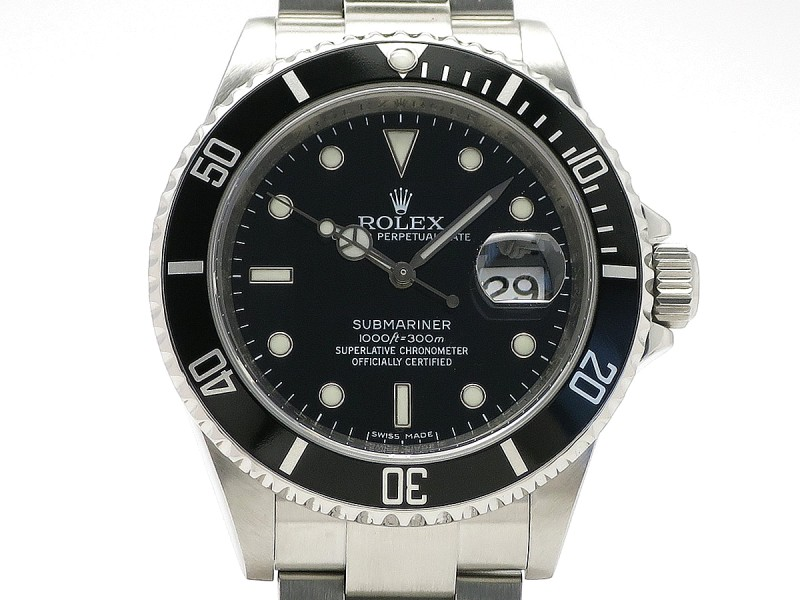 Rolex Submariner 16610(M) Stainless Steel 40mm Mens Watch