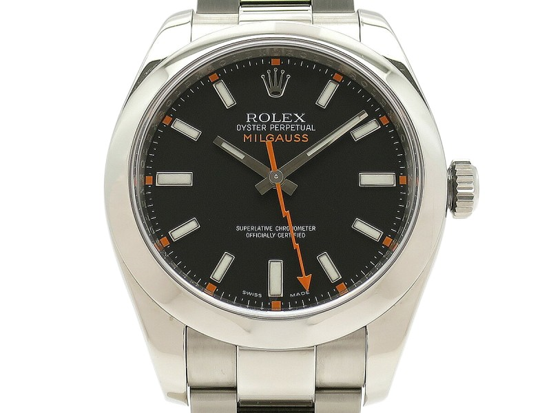 Rolex Milgauss 116400 40mm Mens Watch