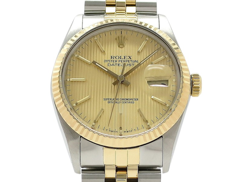 Rolex Datejust 16013 35mm Mens Watch