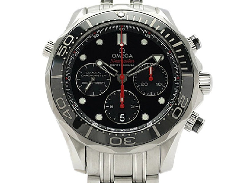 Omega Seamaster Diver300 Chronograph Co-Axial 212.30.44.50.01.001 Stainless Steel 44mm Mens Watch