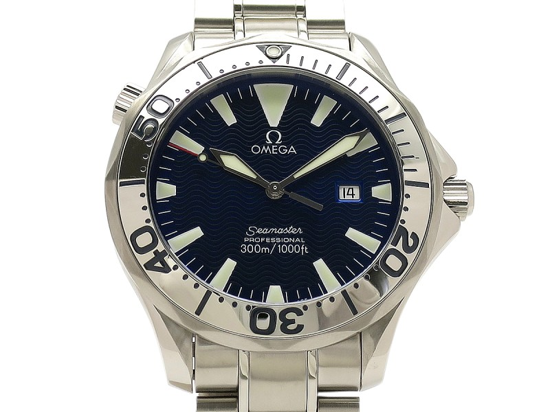 Omega Seamaster 300 2265-80 Stainless Steel 41mm Mens Watch