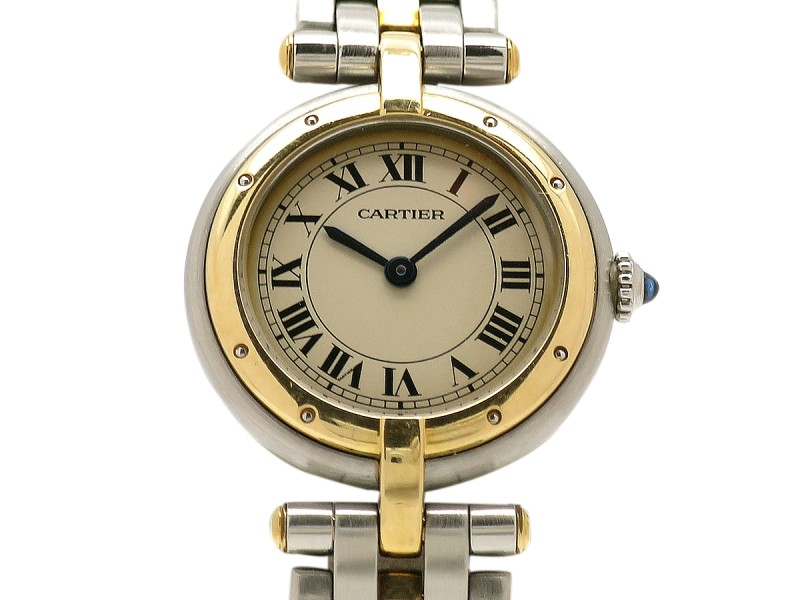Cartier Vendome W31049M7 35mm Mens Watch
