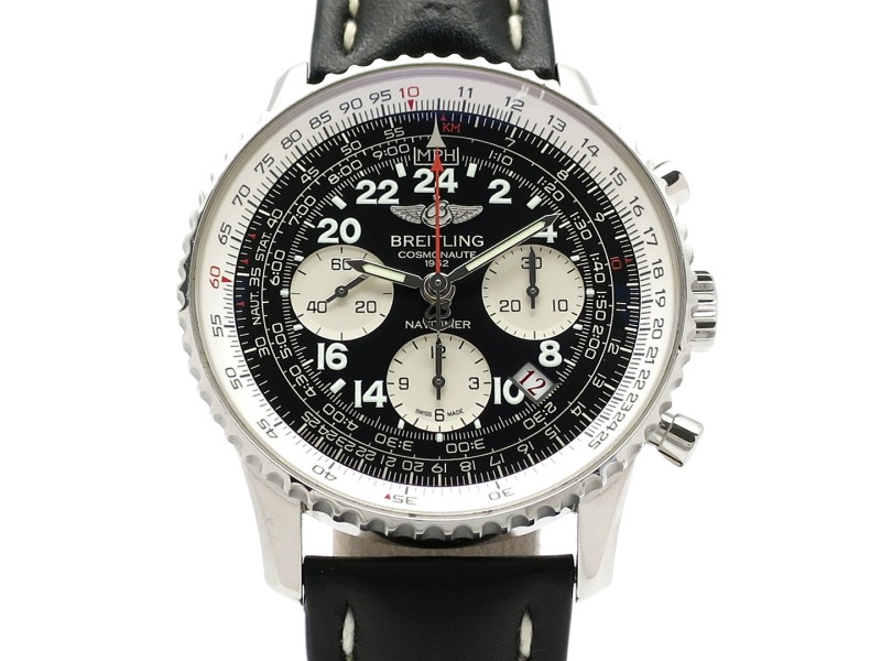 Breitling Navitimer Cosmo Note World Limited 1962 A020B59KBD Leather 42mm Mens Watch